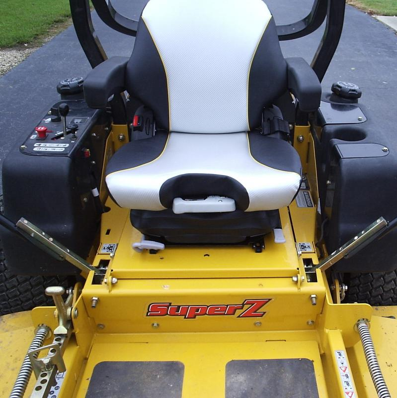 new hustler hd grammar seat (photos) lawnsite Raptor Zero Turn Mowers at readyjetset.co