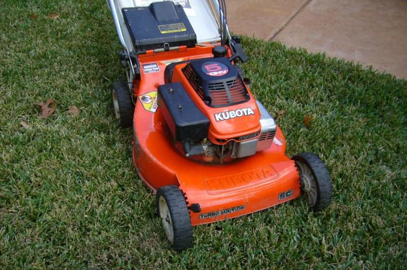 Kubota w5021 self-propelled for sale $275 | LawnSite