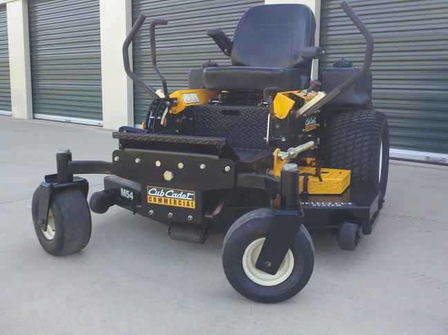 Cub Cadet Tank : Cub cadet m tank before and after lawnsite