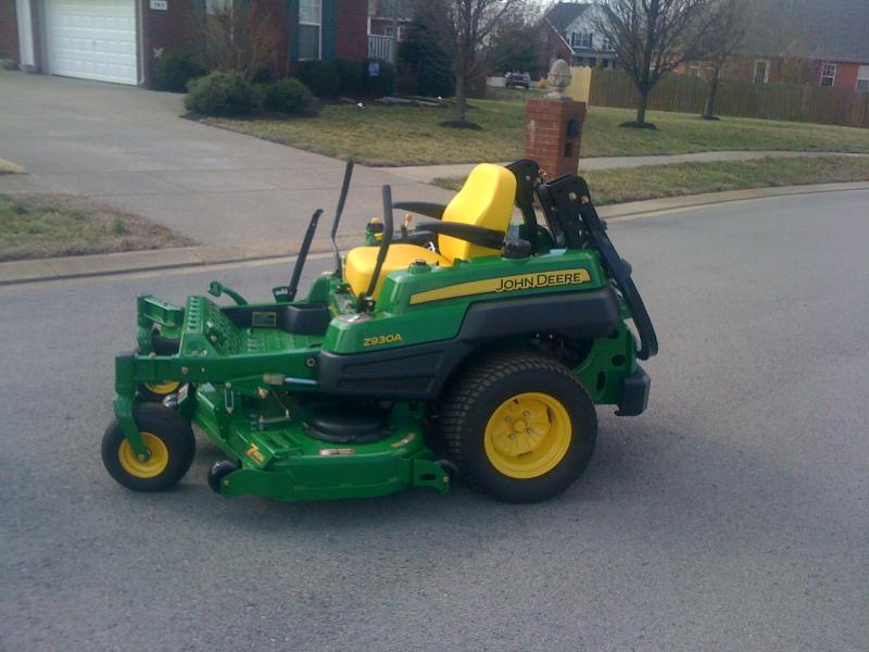 New JD Z930A MOD! | LawnSite