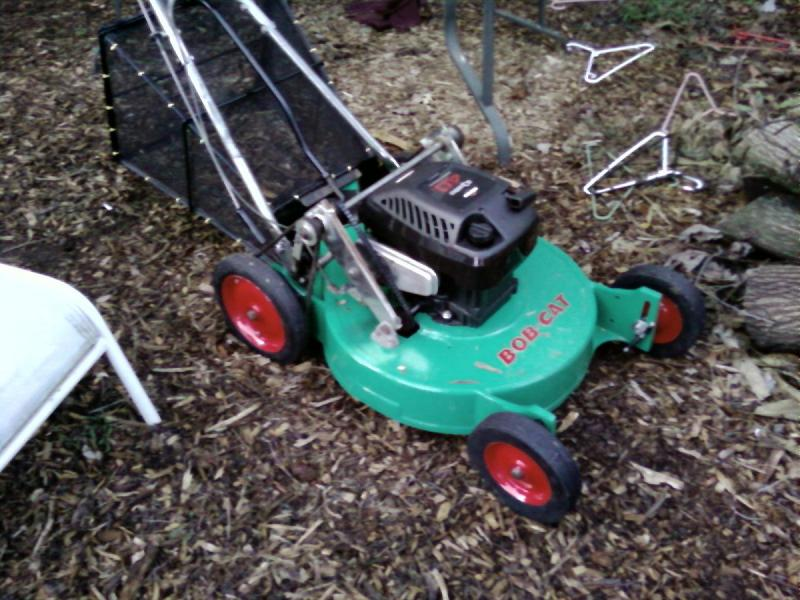 vintage bobcat mower restoration | LawnSite