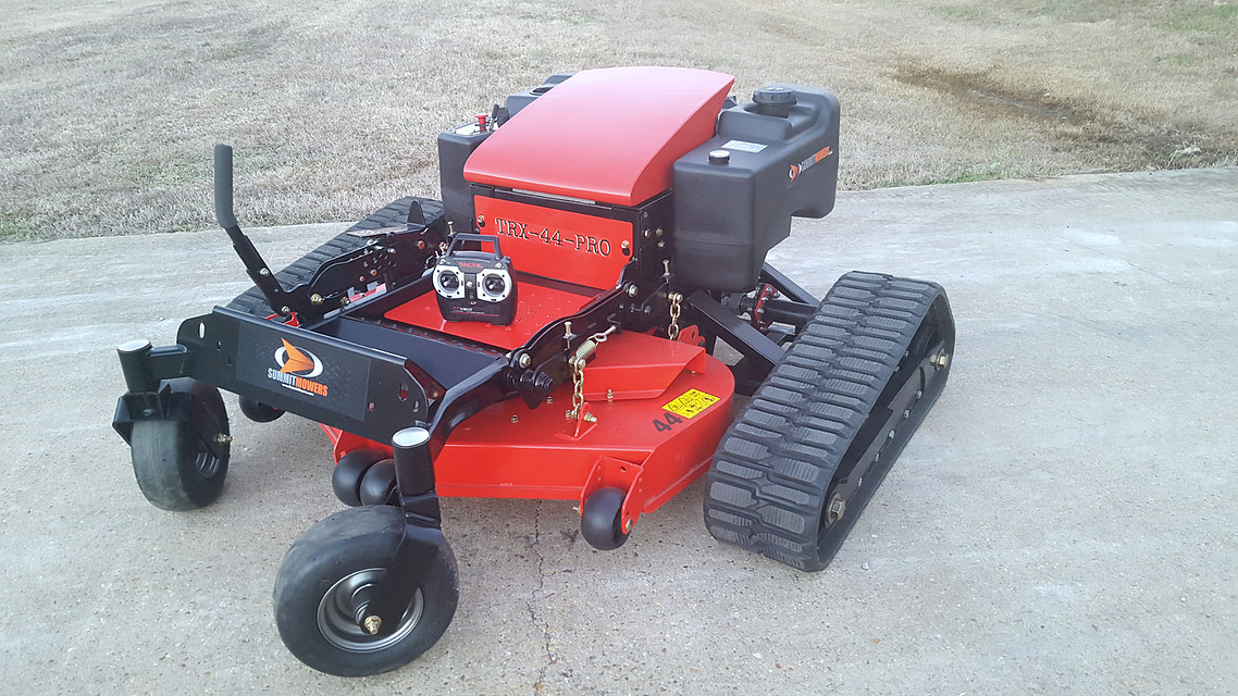 Summit Remote Control Slope Mowers | LawnSite