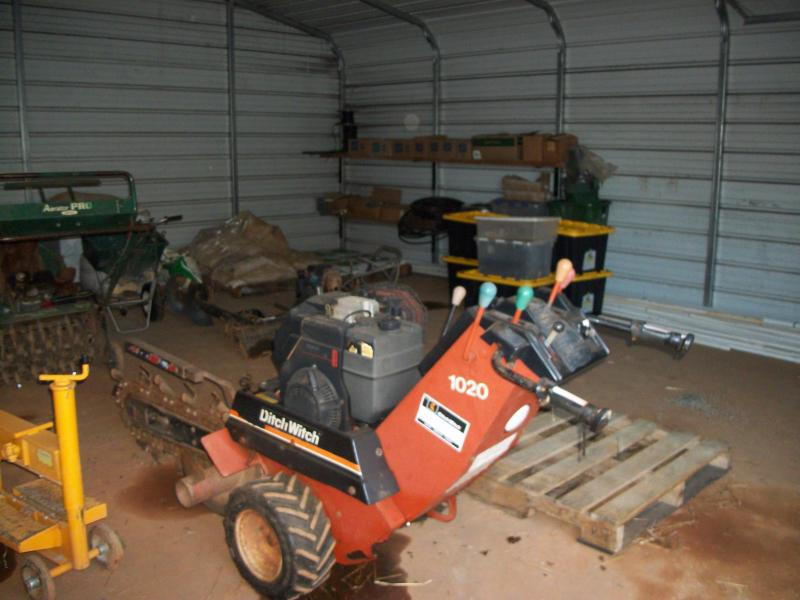 1020 ditch witch walkbehind trencher | LawnSite