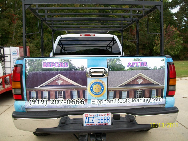 Roof Cleaning Raleigh Nc Truck Wrap Lawnsite