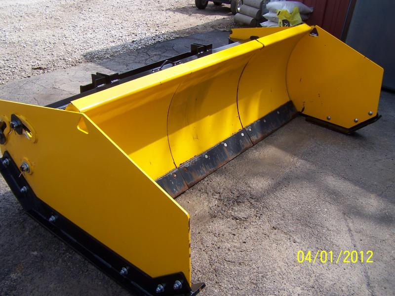 Arctic Sectional Snow Plow Pusher Lawnsite