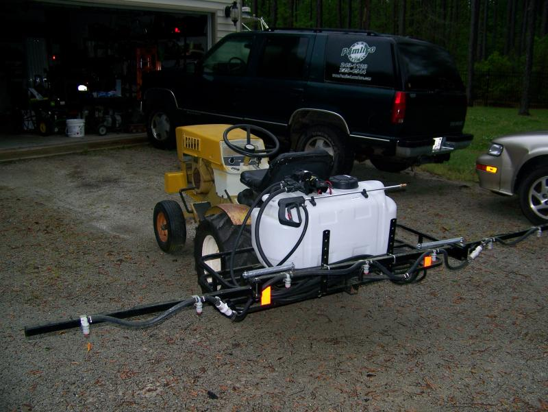 Review Of Fimco Model Atv 25 700 10 Boom Sprayer Lawnsite
