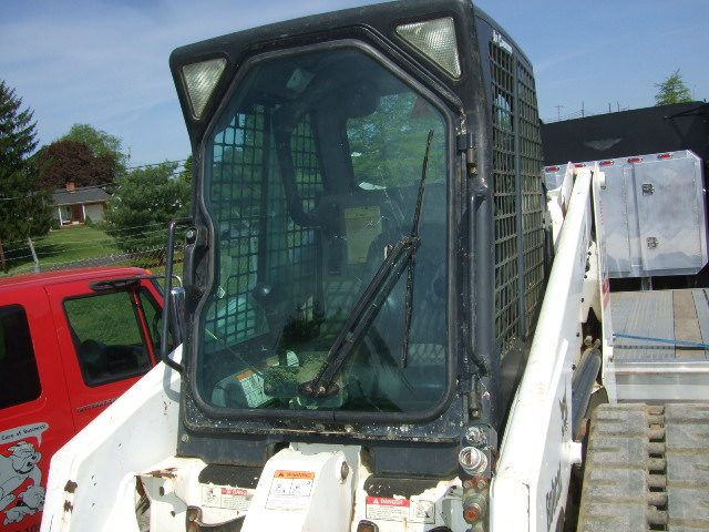 How I Install A Bobcat Door Glass Including Pictures