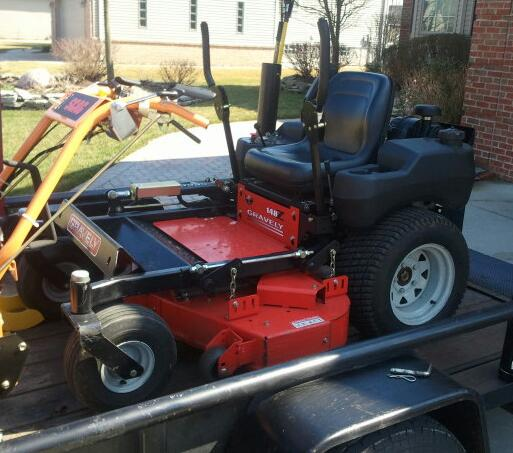 48 Gravely 148z For Sale Lawnsite