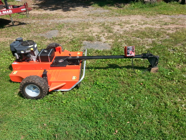 DR tow-behind field and brush mower | LawnSite