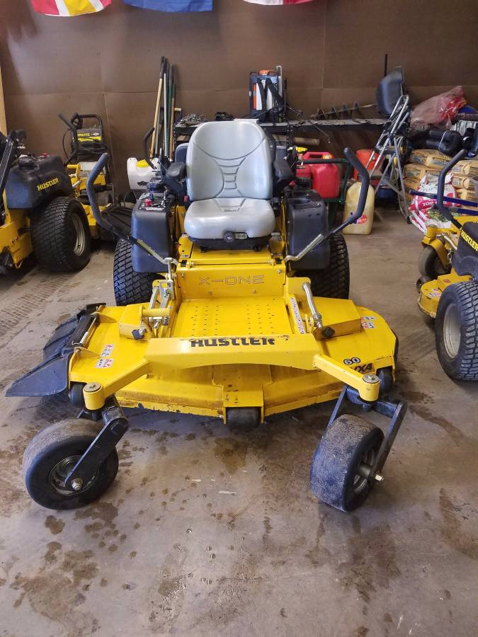 Are also hustler mower sale did not