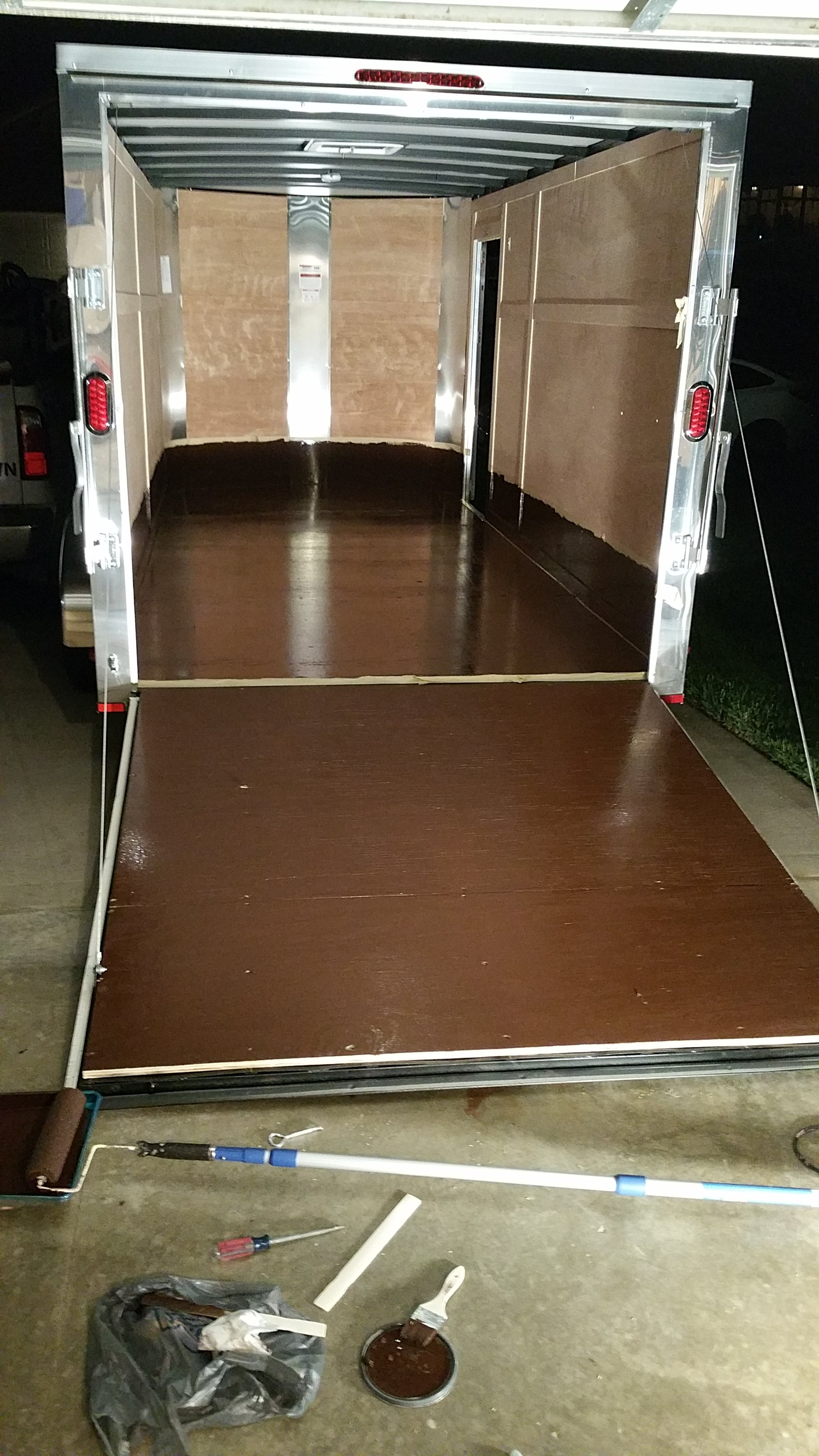 Enclosed Spray Trailer Suggestions Lawnsite Lawn
