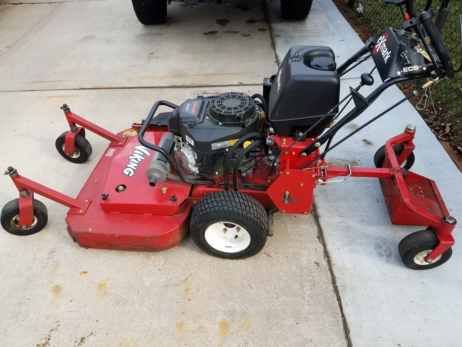 Exmark Viking Hydro 36 Quot Walk Behind Mower With Sulky