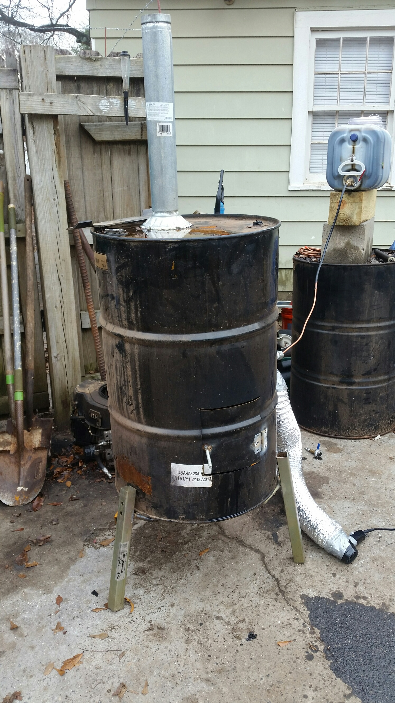 Disposing Of Used Oil Redneck Style Lawnsite