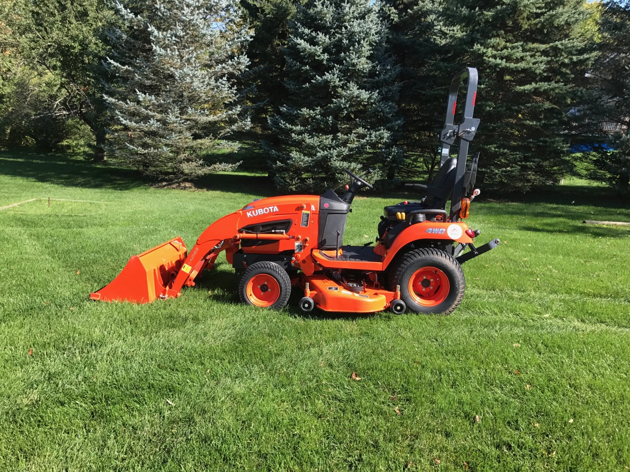 2016 Kubota BX2670 With Loader and Mower | LawnSite