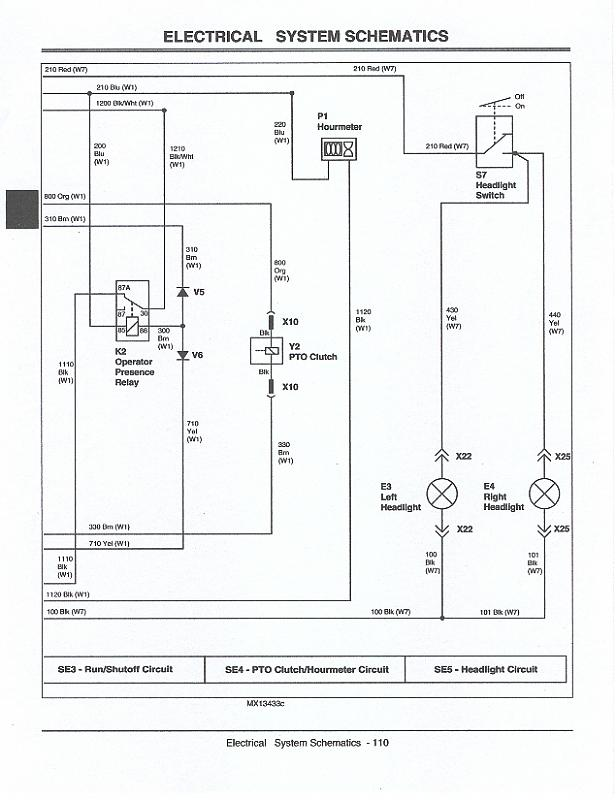 jd quick trac 647 wiring diagram | LawnSite on
