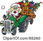 65260-Royalty-Free-RF-Clipart-Illustration-Of-A-Peaceful-Santa-Driving-A-Tractor-Sled[1].jpg