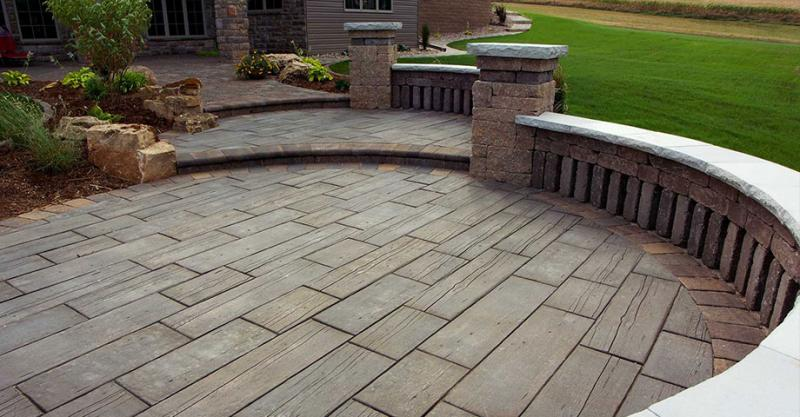 Anyone Installed Barn Plank Or Timberstone Pavers Yet
