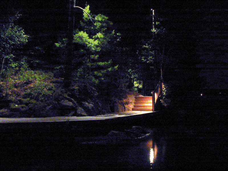 Barr - moonlit path from boat house - 06.JPG