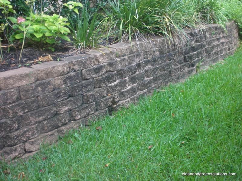 before decorative wall cleaning the woodlands.jpg