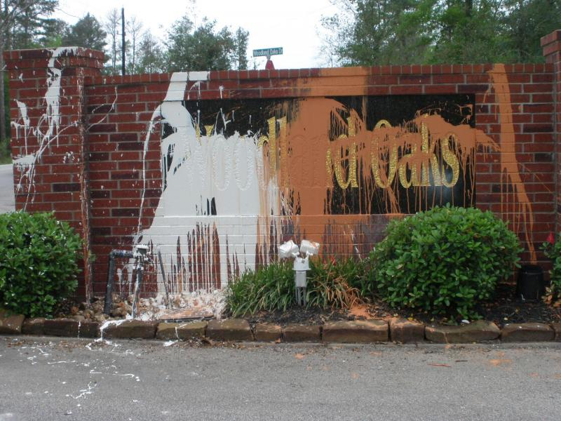 Before Graffit Removal Magnolia Texas.jpg