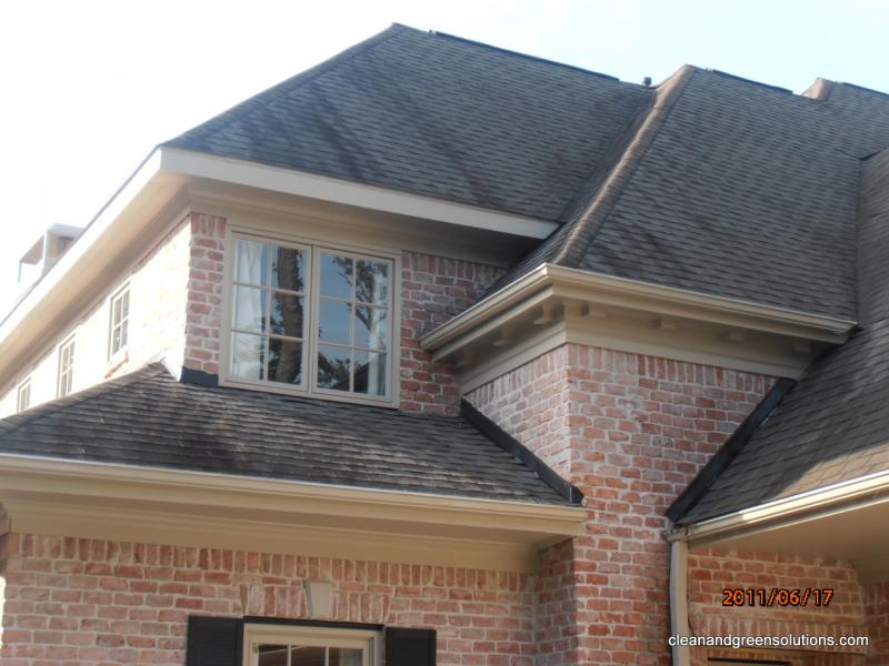 Before Roof cleaned the woodlands texas.jpg