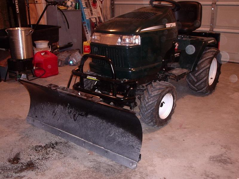 dozer blade on mower? | LawnSite