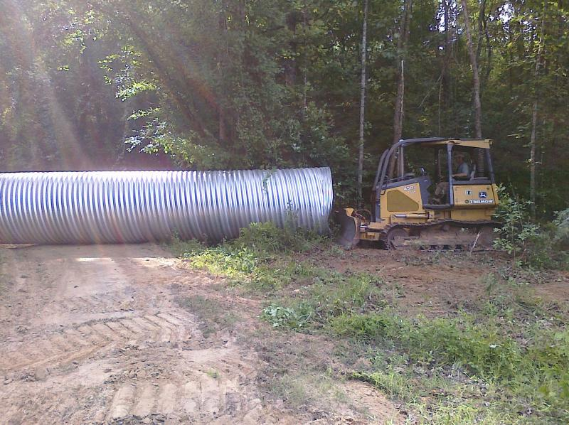 20 Foot Long 6 Ft Corrugated Drain Pipe Lawnsite Com Lawn Care Landscaping Professionals Forum