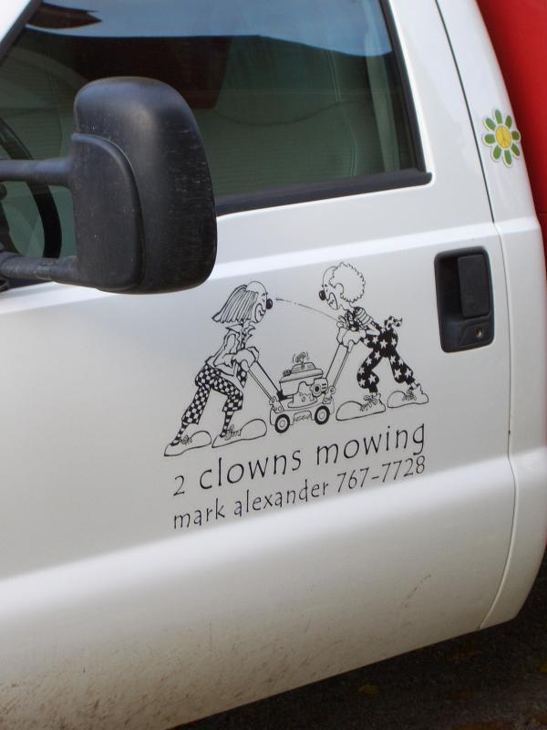 funny lawn care names