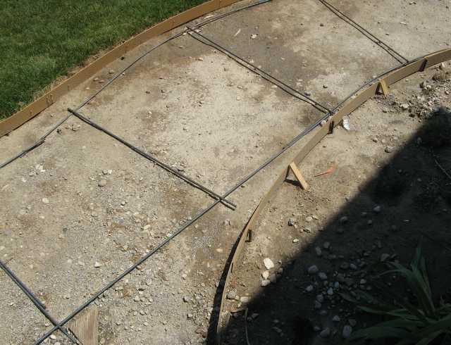 How Much Base For Concrete Patio Designs