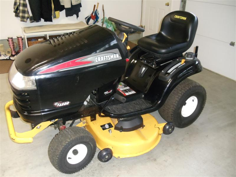 What Year is this GS 6500 Craftsman? | LawnSite