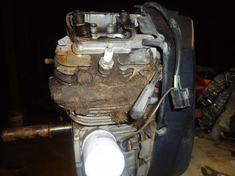 Kawasaki FH721 FH680 23 25 HP Engine Blown With Pictures FYI