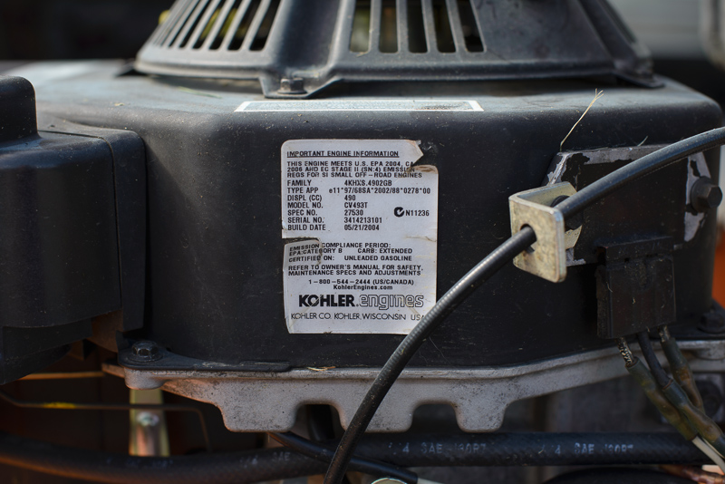 Help! Kohler Command Pro Leaking oil below OHV cover | LawnSite