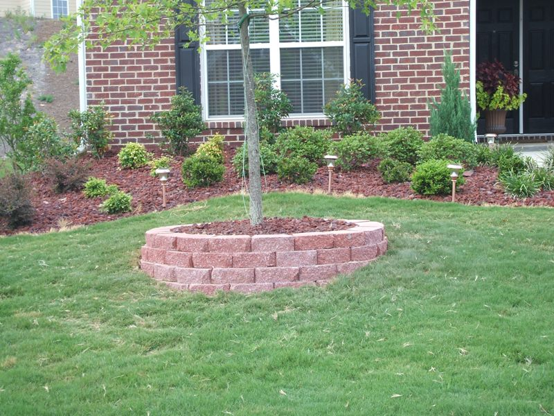 Paver Tree Ring More To Come Lawnsite