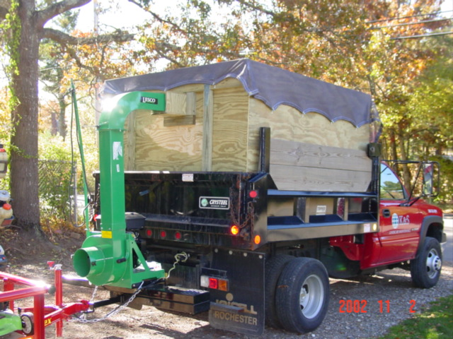 Tarp Or Plywood For Leaf Box Lawnsite