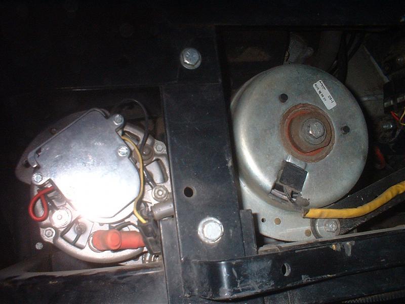 L/C Kawi alternator starts discharging 10 imnutes after