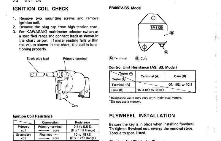 Has anyone use a universal igniter? | LawnSite