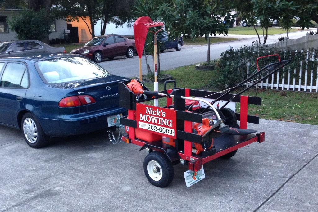 Mini harbor freight trailer for my new business lawnsite finishedtrailerg publicscrutiny Choice Image