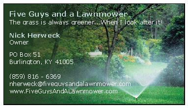 Five Guys and a Lawnmower Business Card.JPG