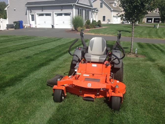 Commercial Push Mower >> Husqvarna MZ-T Zero Turn Review | LawnSite