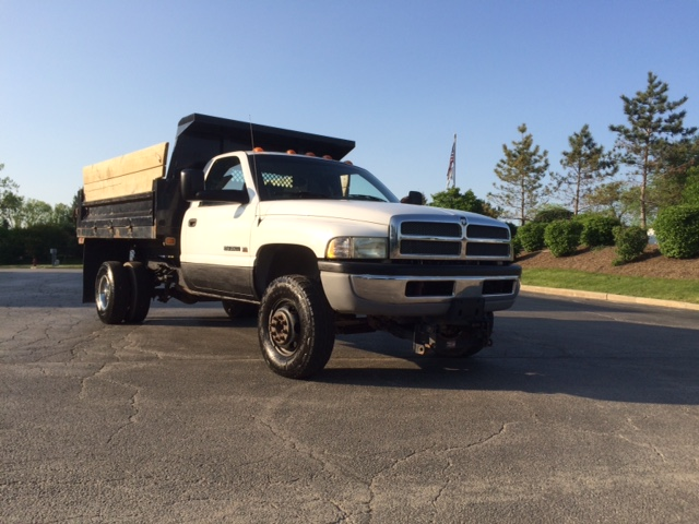 2002 Dodge Ram 3500 Dump Truck With Western Snow Plow 5000 Lawnsite