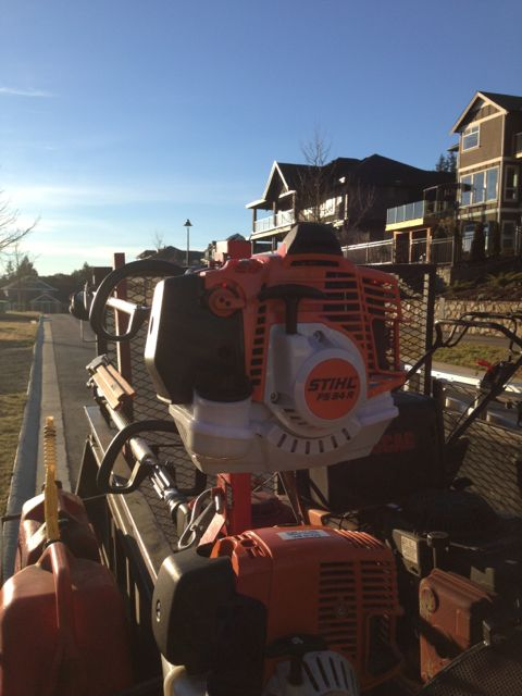 New Stihl FS 94R Review with photo's | LawnSite