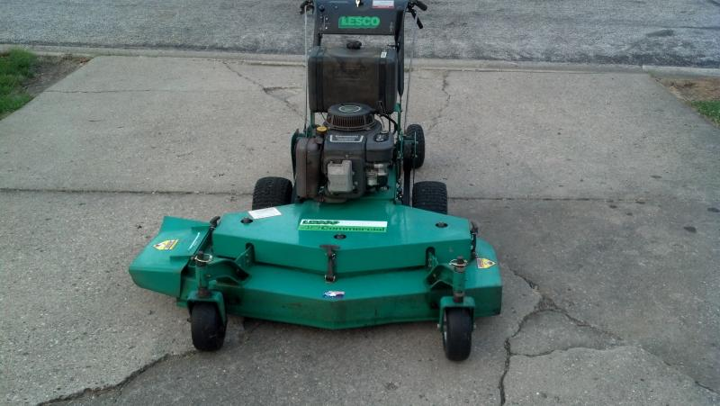 Lesco 48'' Commercial Walk Behind Mower w/sulky - $900 ...