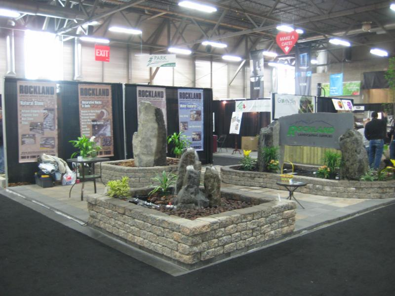 Here Are Pics Of Our Booth From This Past Weekend We Are A Landscaping Supplies Co