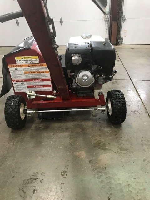 brown bed edger trencher f 781h for sale 1900 lawnsite