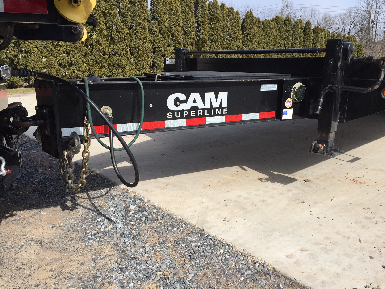 cam 12 ton tandem dual trailer for sale lawnsite sealed trailer wiring harness at edmiracle.co