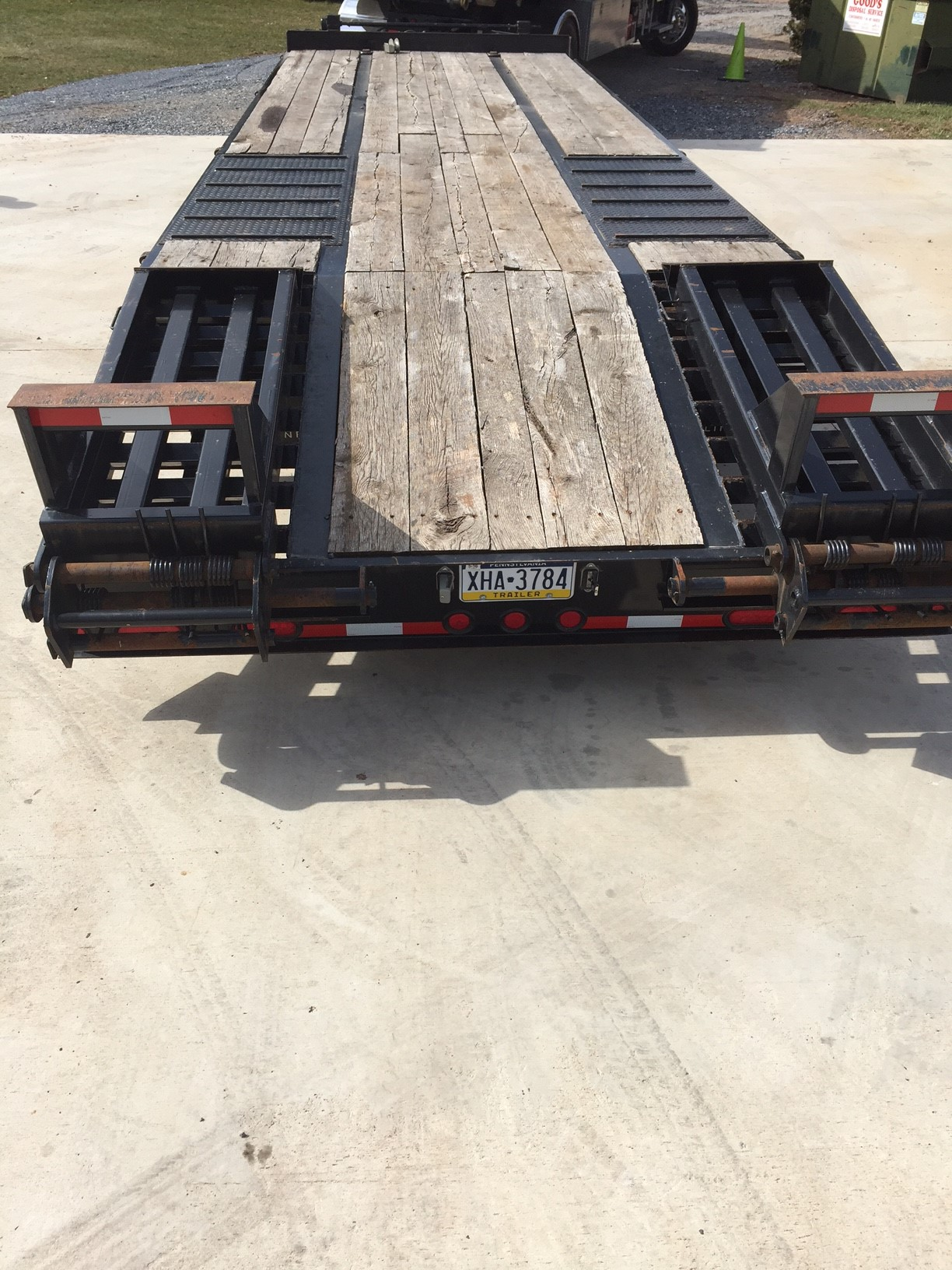 Cam 12 Ton Tandem Dual Trailer For Sale Lawnsite 7 Way Rv Wiring Harness Img 4369