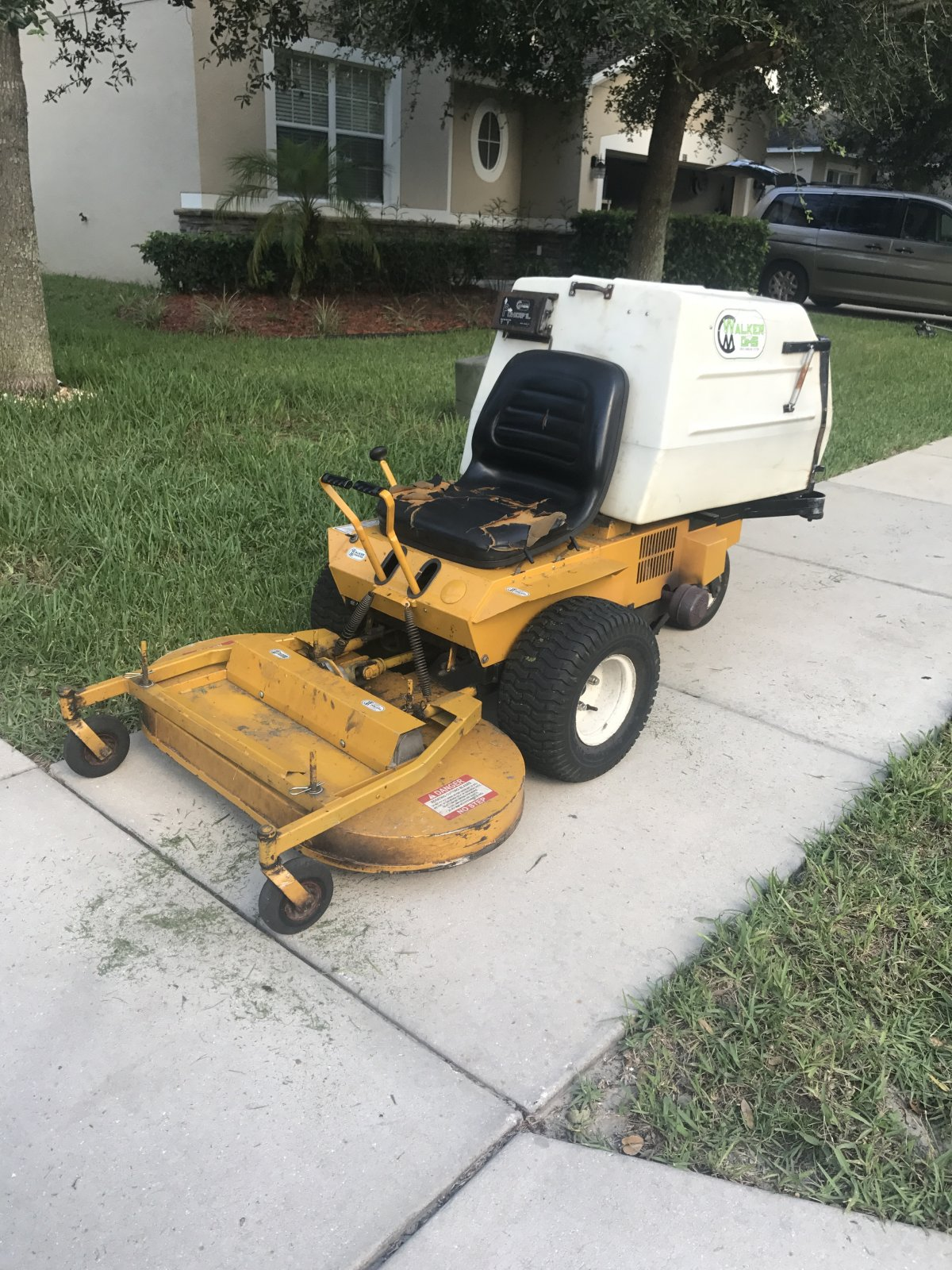 Walker M36 42 Repower Help Lawnsite Mower Wiring Diagram I Own A Small Engine Repair Business So Know My Way Around Mowers And Have Done Countless Swaps Before But Wanted To See If Anyone Had Any Pointers