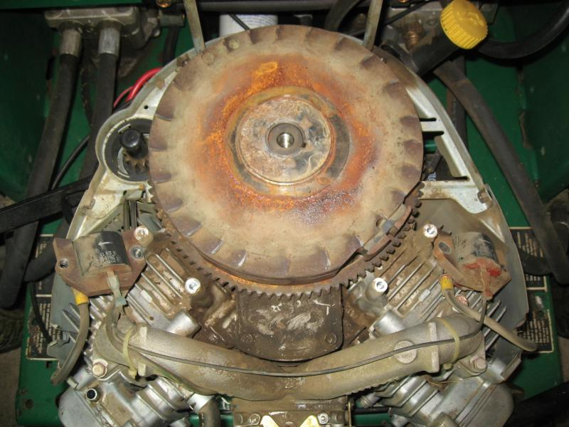 Removal Of Kawasaki Flywheel Pics Lawnsite