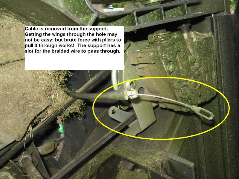 Honda Of Seattle >> Honda HRX217 ground drive speed selector cable replacement - help needed (pics). | Page 2 | LawnSite