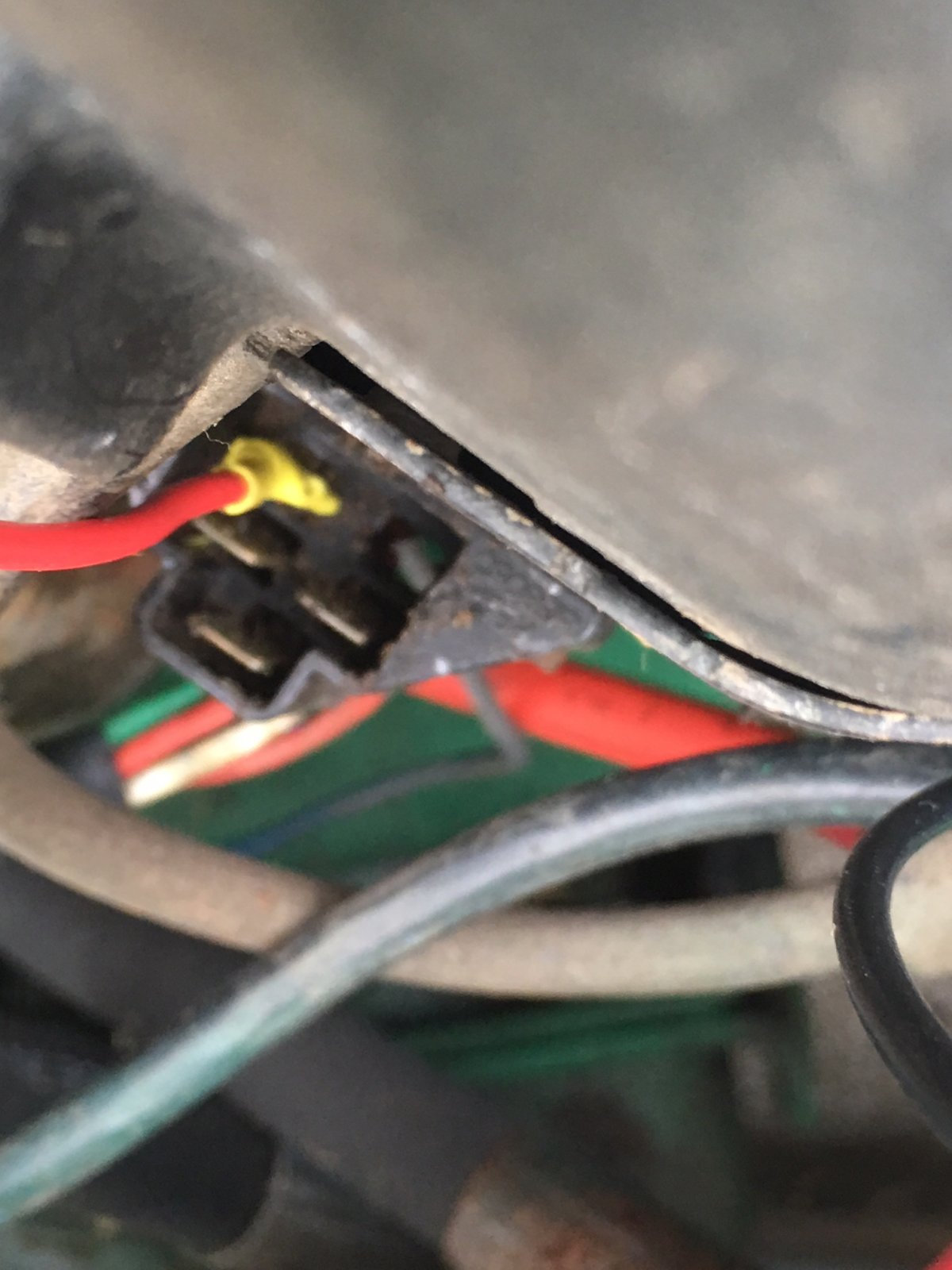 Help with Harness-jumper on Old Kohler engine | LawnSite No Red Wire On Wiring Harness on